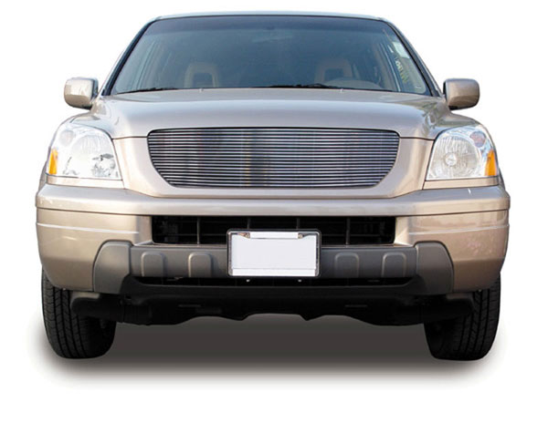 T-Rex 21732:  Honda Pilot 2003 - 2005 Billet Grille Overlay or Insert - Bolt on (21 Bars)