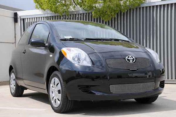 T-Rex 21926 |  Toyota Yaris Hatchback 2007 - 2008 Billet Grille
