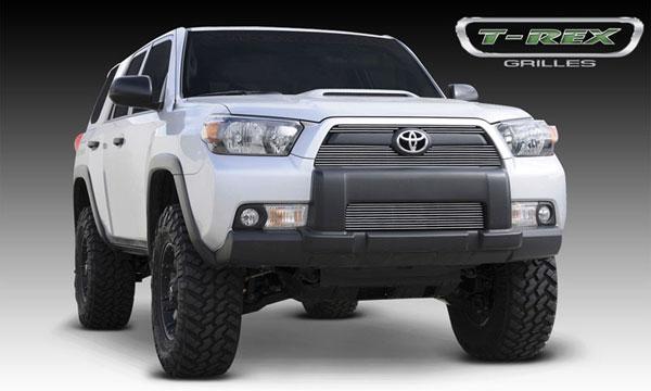 T-Rex 21947 |  Toyota 4RUNNER - Billet Grille Overlay/Bolt On - 2 Pc; 2010-2013