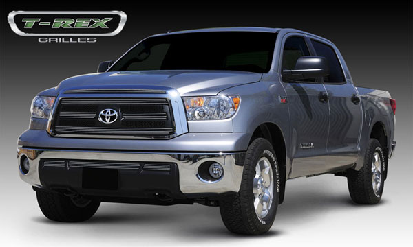 T-Rex 21961:  Toyota Tundra 2010 - 2012 Billet Grille Overlay - 5 Pc