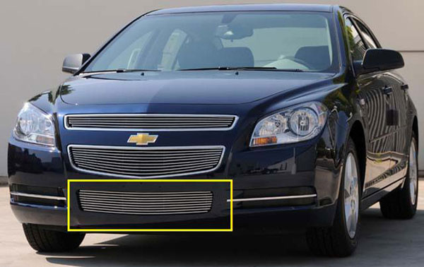 T-Rex 25168    Chevrolet Malibu - Bumper Billet Grille; 2008-2012
