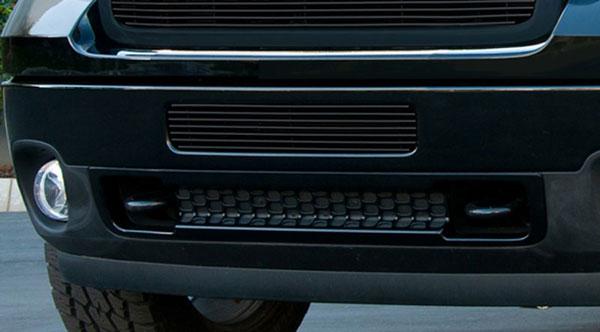 T-Rex 25209B |  GMC Sierra 2500HD, 3500 2011 - 2011 Bumper Billet Grille - Top steel bumper opening - All Black