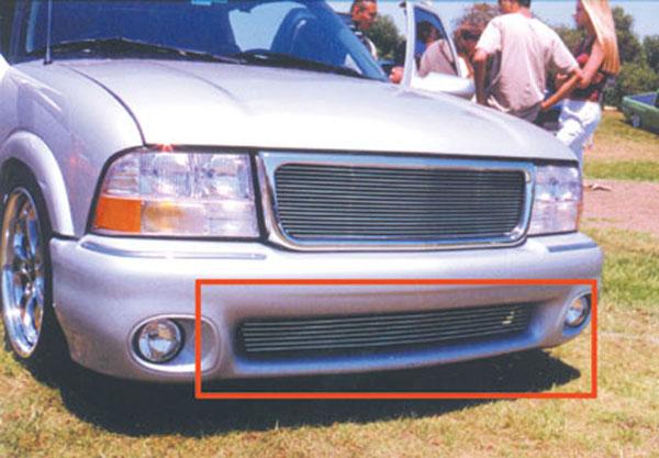 T-Rex 25377 |  GMC Envoy - Bumper Billet Grille Insert (9 Bars) - Fits Envoy Bumper Only; 1998-2000