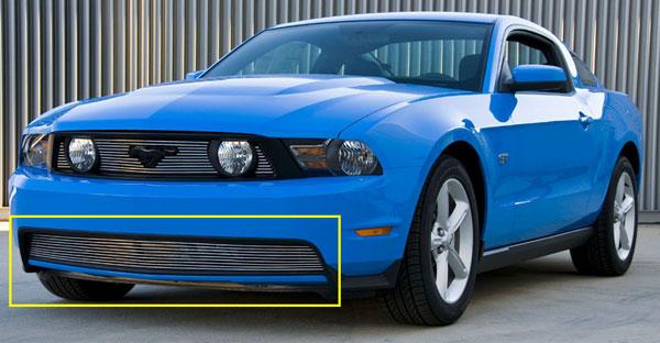 T-Rex 25519    Ford Mustang GT Models - Bumper Billet (Full Opening Design) - GT Models; 2010-2012