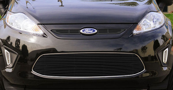 T-Rex 25588B:  Ford Fiesta 2011 - 2011 Bumper Billet Grille Insert - 1 Pc Center Opening - All Black