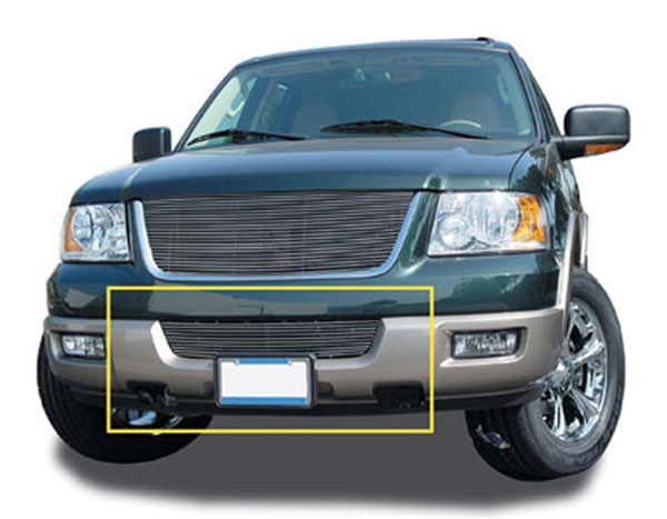 T-Rex 25592:  Ford Expedition 03 All & 04-06 XLT 2003 - 2006 Bumper Billet Grille Insert - 03 All, 04-06 XLT Models (10 Bars)
