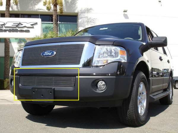 T-Rex 25594:  Ford Expedition 2007 - 2012 Bumper Billet Grille (11 Bars)