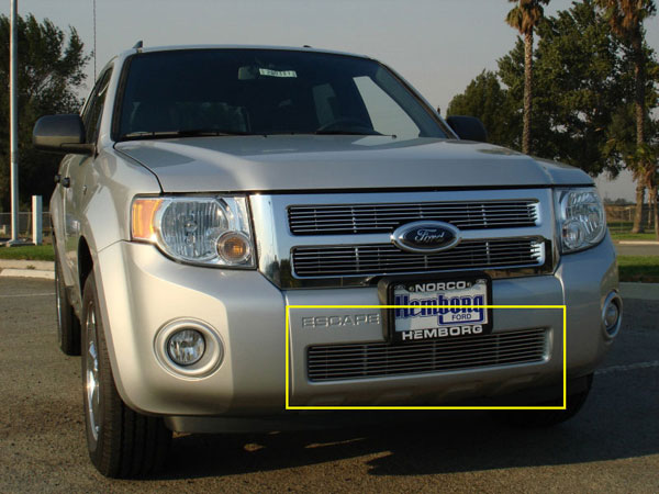 T-Rex 25649:  Ford Escape 2008 - 2012 Bumper Billet - EZ Install