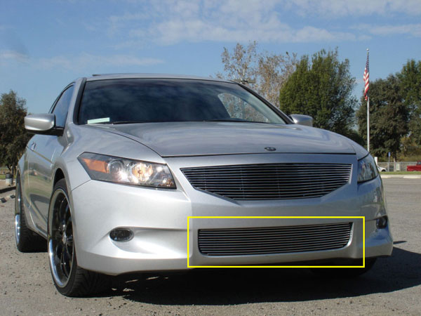 T-Rex 25729:  Honda Accord (Coupe) 2008 - 2010 Bumper Billet Grille Insert