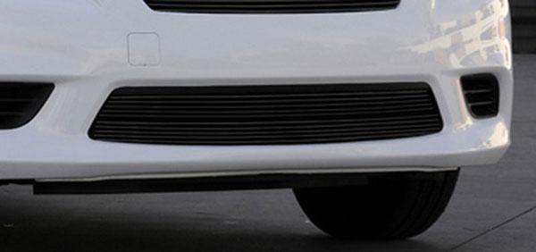 T-Rex 25775B    Nissan Versa Sedan - Bumper Billet Grille Insert - All Black; 2012-2012