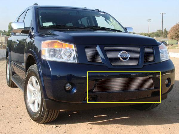 T-Rex 25782 |  Nissan Armada - Bumper Billet Grille; 2008-2012