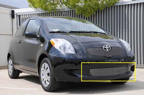T-Rex 25926 |  Toyota Yaris Hatchback - Bumper Billet; 2007-2008