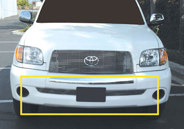 T-Rex 25958:  Toyota Tundra, 04-06 Double Cab 2003 - 2006 Bumper Billet Grille Insert (5 Bars)