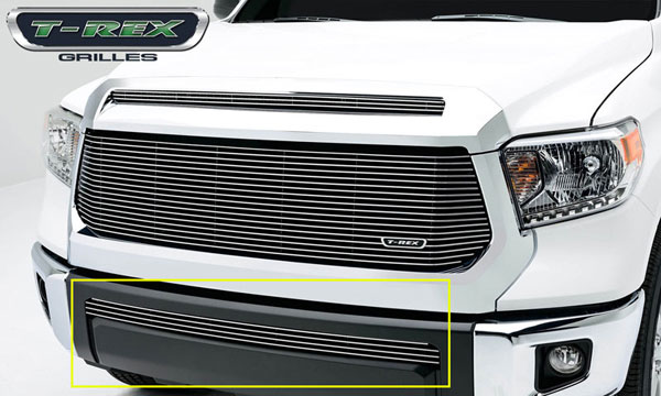 T-Rex 25964 |  Toyota Tundra 2014 - Billet Grille, Bumper, Overlay, 1 Pc, Polished Aluminum Bars