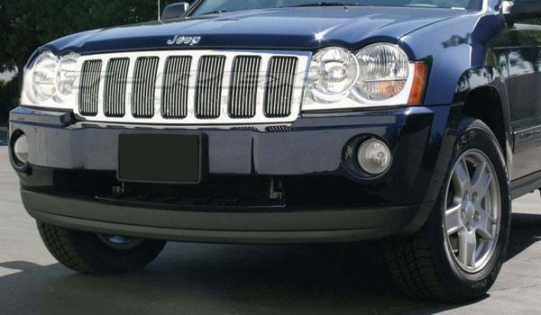 T-Rex 30480 |  Jeep Grand Cherokee 2005 - 2008 VERTICAL Billet Grille Insert