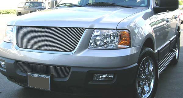 T-Rex 30593:  Ford Expedition 2003 - 2006 VERTICAL Billet Grille Insert (61 Bars)