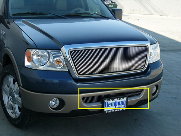 T-Rex 35555 |  Lincoln Mark LT 2006 - 2007 VERTICAL Bumper Insert