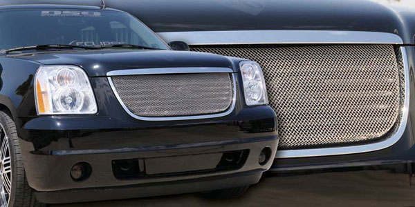 T-Rex 44171:  GMC Yukon 2007 - 2013 Sport Series Formed Mesh Grille - Stainless Steel - Triple Chrome Plated