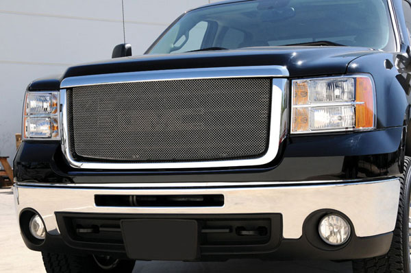 T-Rex 44205:  GMC Sierra 1500 2007 - 2012 Sport Series Formed Mesh Grille - Stainless Steel - Triple Chrome Plated