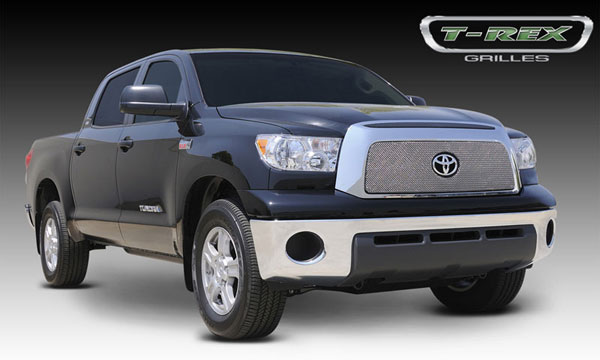 T-Rex 44960:  Toyota Tundra 2007 - 2009 Sport Series Formed Mesh Grille - Stainless Steel - Triple Chrome Plated - w/Opening