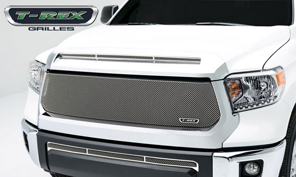 T-Rex 44965:  Toyota Tundra 2014 - Sport Series, Formed Mesh, Main Grille, Replacement, 1 Pc, Triple Chrome Plated Stainless Steel