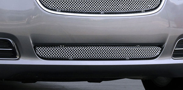 T-Rex 45433 |  Chrysler 300 (All) - Sport Series Formed Mesh Bumper Grille - Stainless Steel - Triple Chrome Plated - Installs into center bumper opening; 2011-2013