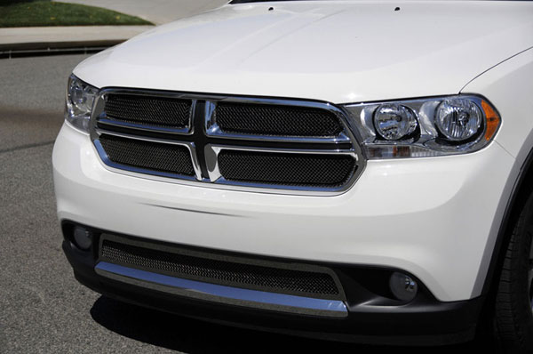 T-Rex 46491:  Dodge Durango 2011 - 2013 Sport Series Formed Mesh Grille - Stainless Steel - All Black - 4 Pc