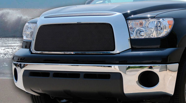 T-Rex 46959:  Toyota Tundra 2007 - 2009 Sport Series Formed Mesh Grille - ALL Black Powdercoat