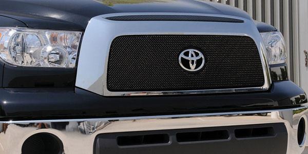 T-Rex 46960 |  Toyota Tundra - Sport Series Formed Mesh Grille - ALL Black Powdercoat - w/ Logo Opening; 2007-2009