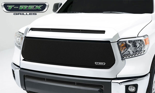 T-Rex 46965:  Toyota Tundra 2014 - Sport Series, Formed Mesh, Main Grille, Replacement, 1 Pc, Black Powdercoated Mild Steel