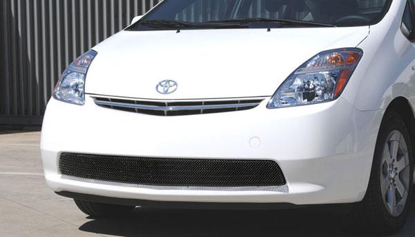 T-Rex 47927 |  Toyota Prius w/o Fog Light - Sport Series Formed Mesh Grille - ALL Black Powdercoat; 2004-2009