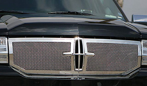 T-Rex 50713 |  Lincoln Navigator 2007 - 2010 OE Grille Assembly Chrome with 2 Pc Upper Class Mesh Grille