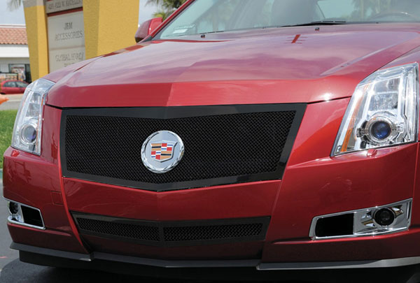 T-Rex 51197 |  Cadillac CTS - Upper Class Mesh Grille - All Black; 2008-2011