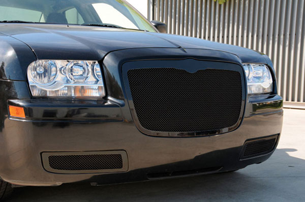 T-Rex 51471:  Chrysler 300 2005 - 2010 Upper Class Mesh Grille - All Black