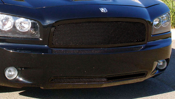 T-Rex 51474:  Dodge Charger 2005 - 2010 Upper Class Mesh Grille - All Black