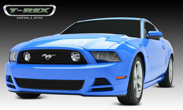 T-Rex 51525:  Ford Mustang GT 2013 - 2013 Upper Class Mesh Main Grille (will accept OE ''Pony'' Logo)