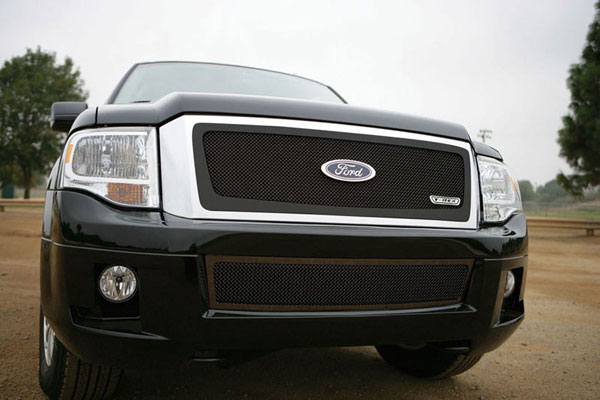 T-Rex (51594)  Ford Expedition 2007 - 2012 Upper Class Mesh Grille - All Black