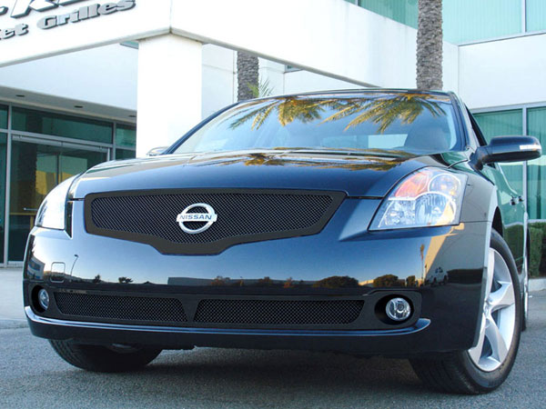 T-Rex 51762 |  Nissan Altima 2007 - 2009 Upper Class Mesh Grille - All Black