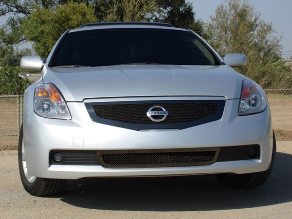 T-Rex 51769 |  Nissan Altima Coupe - Upper Class Mesh Grille - All Black; 2008-2009