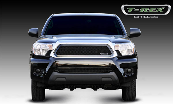 T-Rex 51938:  Toyota Tacoma 2012 - 2013 Upper Class Mesh Grille - All Black