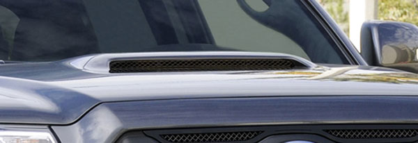 T-Rex 51939    Toyota Tacoma - Mesh Hood Scoop - Al Black; 2012-2013