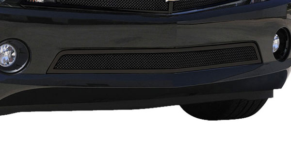 T-Rex (52027)  Chevrolet Camaro RS 2010 - 2013 Upper Class Mesh Bumper - All Black - With Formed Mesh (RS, LS, LT Models)