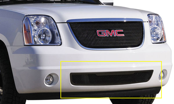 T-Rex 52172:  GMC Yukon 2007 - 2013 Upper Class Bumper Mesh Grille - All Black