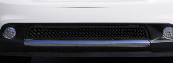 T-Rex 52492:  Dodge Durango 2011 - 2013 Upper Class Mesh Bumper Grille - All Black - With Formed Mesh Center