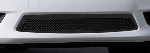 T-Rex 52775:  Nissan Versa Sedan 2012 - 2012 2012-2012 Nissan Versa Sedan Upper Class Polished Mesh Bumper - All Black
