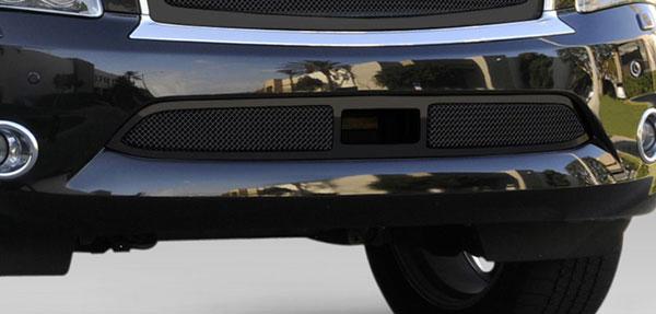 T-Rex 52792 |  Infiniti QX56 - Upper Class Mesh Bumper Grille, Overlay, with Cruise Sensor Opening, Black; 2011-2013
