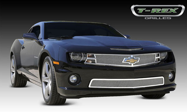 T-Rex 54027 |  Camaro LS/RS/SS Upper Class Polished Mesh Grille; 2010-2013