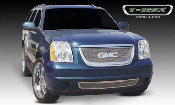 T-Rex (54171)  GMC Yukon 2007 - 2013 Upper Class Polished Stainless Mesh Grille