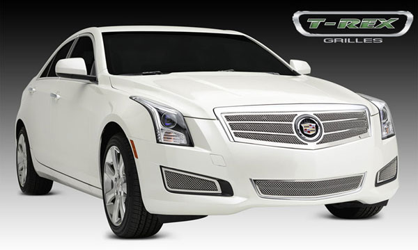 T-Rex 54177:  Cadillac ATS 2013 - 2013 Upper Class, Formed Mesh Grille, Main, Overlay, 1 Pc, Polished Stainless Steel (Will not fit Platinum Edition).