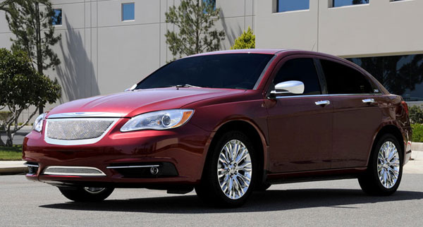 T-Rex 54408 |  Chrysler 200 - Upper Class Polished Stainless Mesh Grille - With Formed Mesh Center; 2011-2013